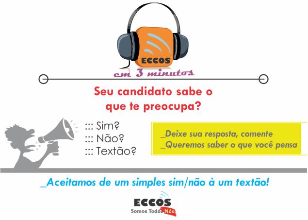 ECCOSem3minutos-Emprego & Saúde nas eleições2018